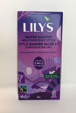 Lily's Sweets Lilys Sweets - 40% Chocolaty Bar, Salted Almond & Milk