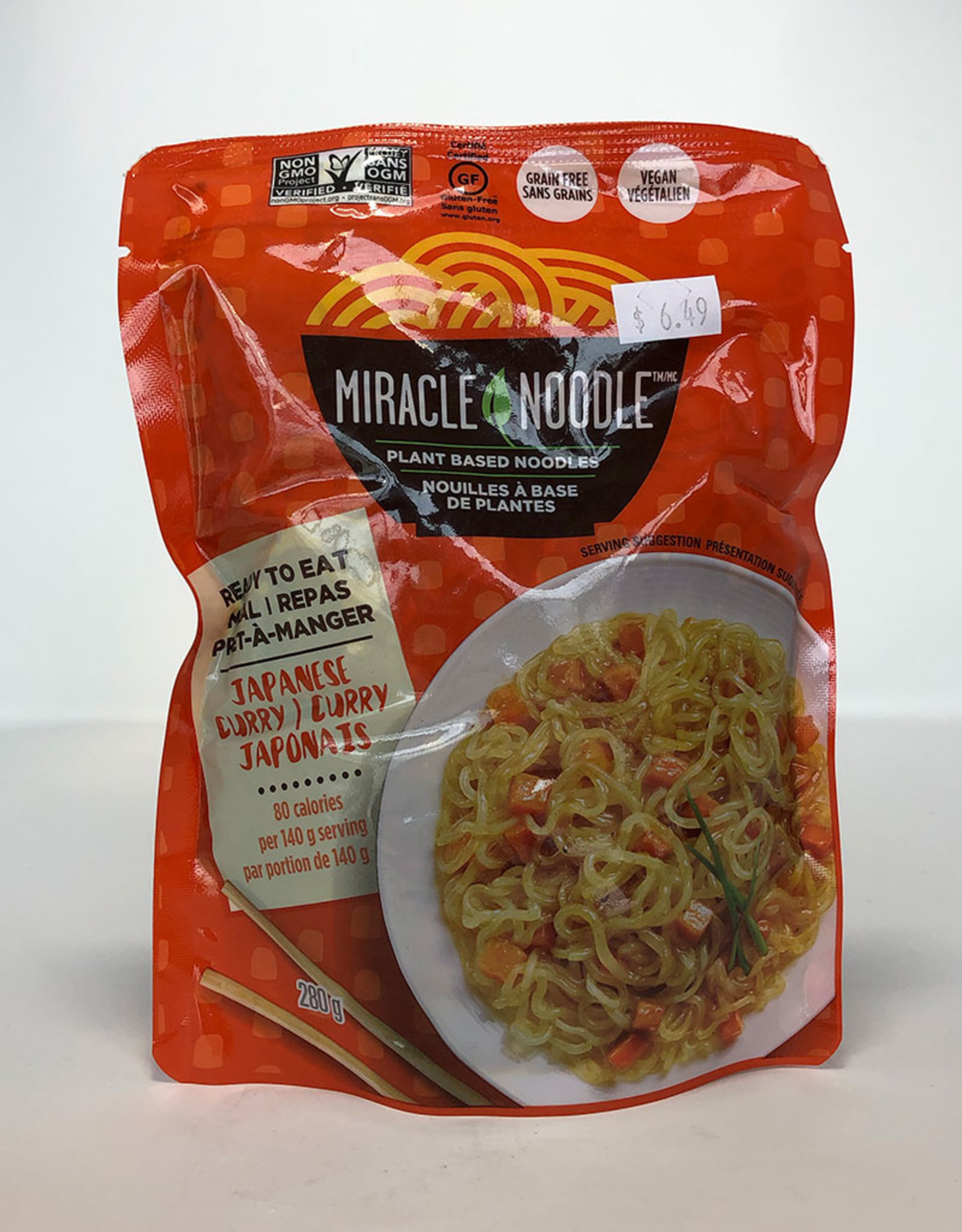 Miracle Noodle Miracle Noodle - Ready-to-Eat, Japanese Curry