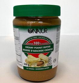 Natur Natur - Peanut Butter, Creamy (500g)