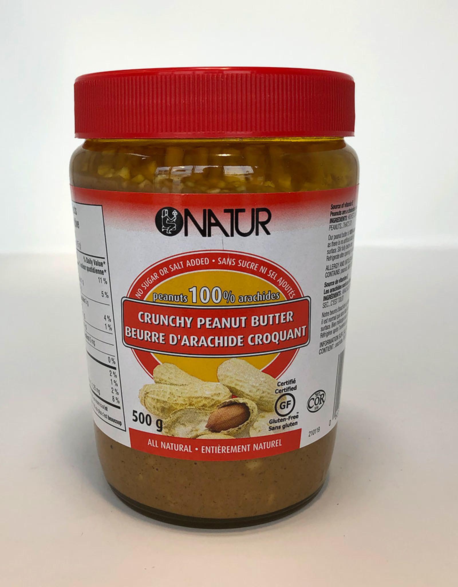 Natur Natur - Peanut Butter, Crunchy (500g)