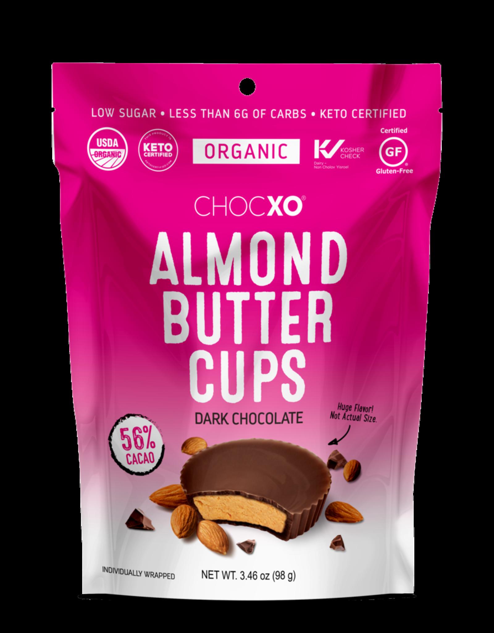 ChocXO ChocXO - Organic Dark Chocolate Almond Butter Cup (14g)