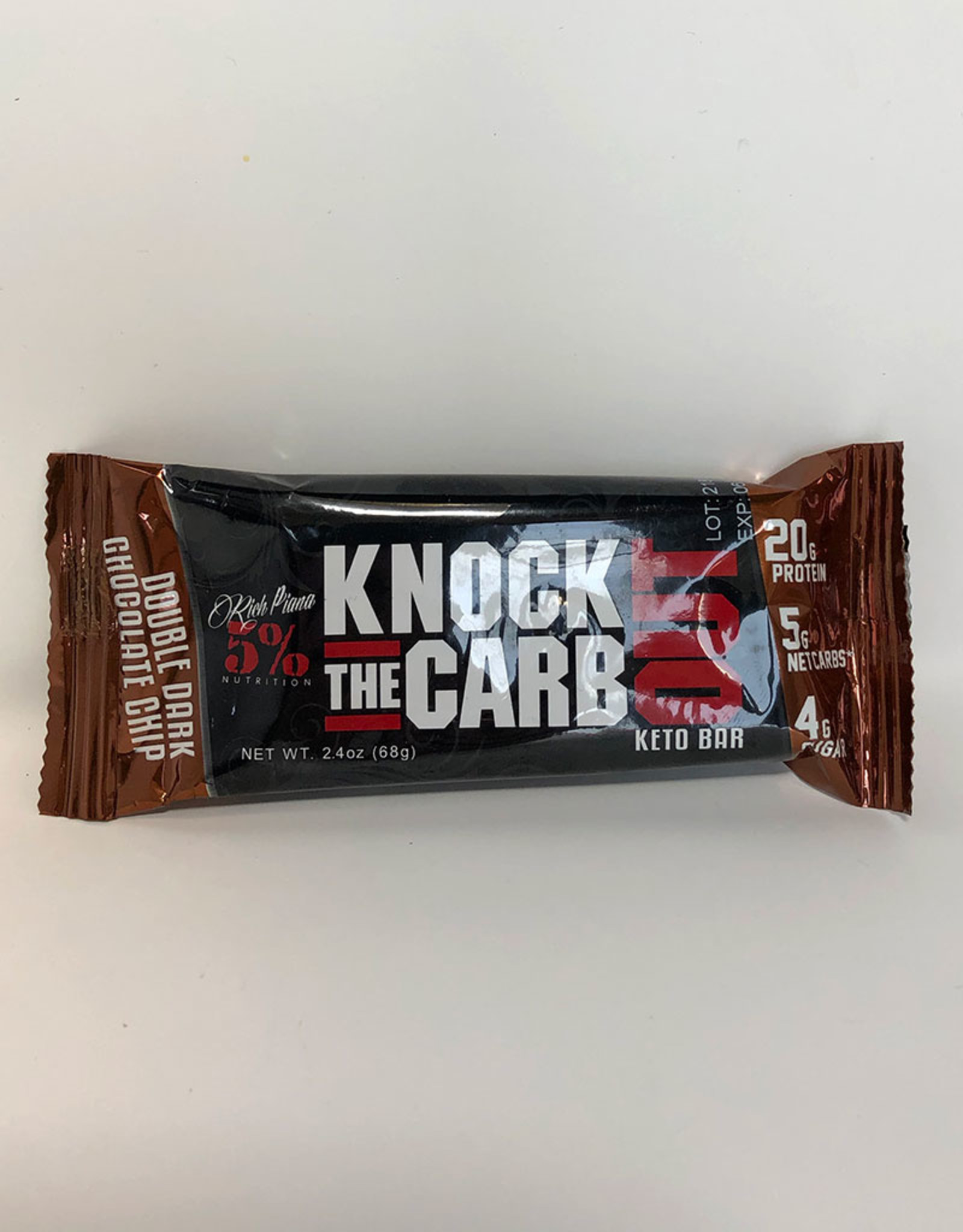 Rich Piana 5 Nutrition Rich Piana - Knock Out Bar, Double Dark Chocolate Chip