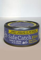 Safe Catch Safe Catch - Elite Wild Tuna, Garlic Herb (142g)