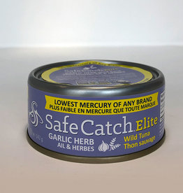 Safe Catch Safe Catch - Elite Wild Tuna, Garlic Herb (142g)
