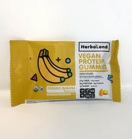Herbaland Herbaland - Protein Gummies, Organic Banana