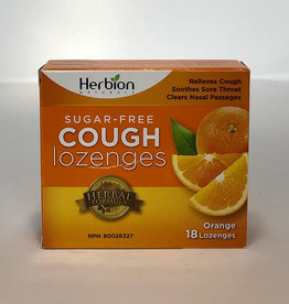 Herbion Herbion - Sugar Free Cough Lozenges, Orange