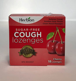 Herbion Naturals Herbion - Sugar-Free Cough Lozenges, Cherry
