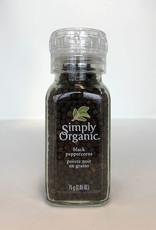 Simply Organic Simply Organic - Black Peppercorn Grinder (75g)