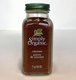 Simply Organic Simply Organic - Cayenne Pepper (71g)
