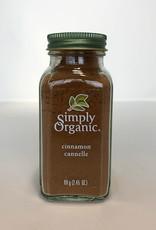 Simply Organic Simply Organic - Cinnamon (69g)