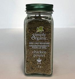 Simply Organic Simply Organic - Grilling Seasons, Chicken (31g)