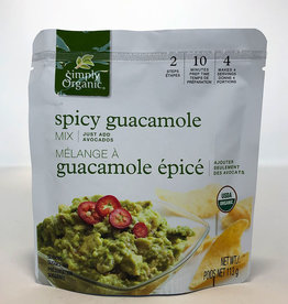 Simlpy Organic Simply Organic - Guacamole Mix, Spicy (Pouch)