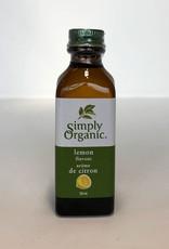 Simlpy Organic Simply Organic - Lemon Flavor/ extract