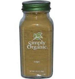 Simlpy Organic Simply Organic - Sage (40g)