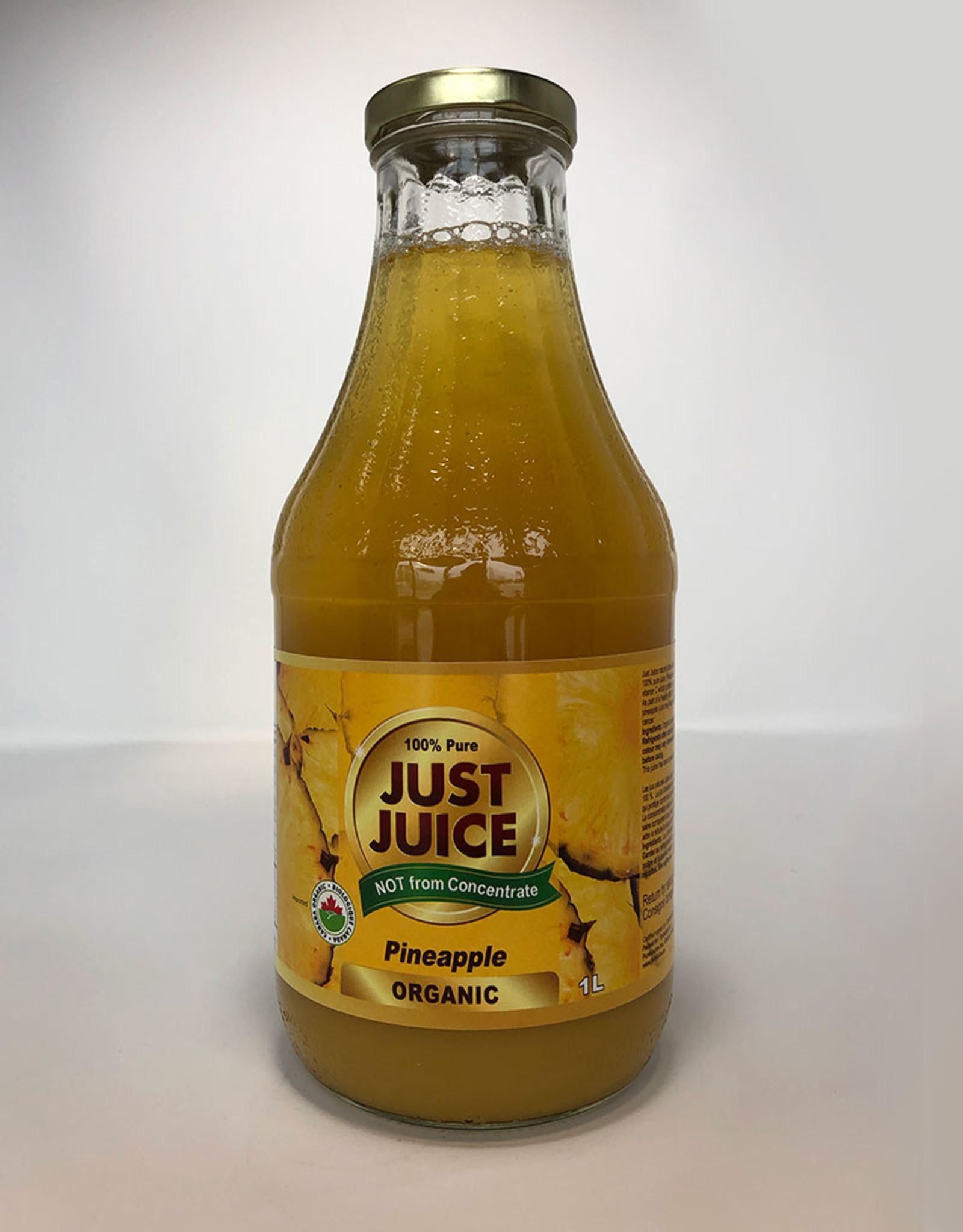 Just Juice Just Juice - Juice, Organic Pineapple (1L)