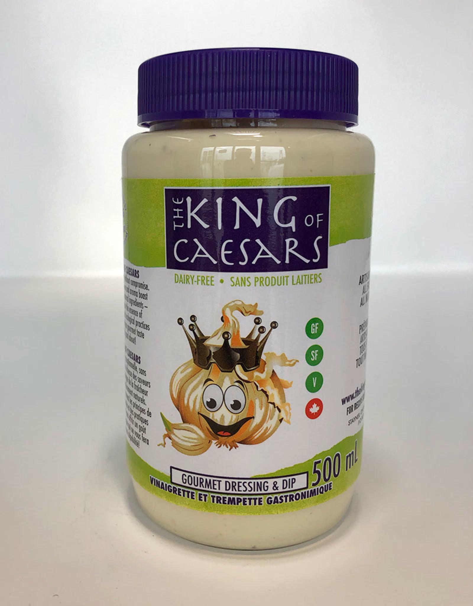 King of Caesar King of Caesars - Salad Dressing, Dairy Free Caesar