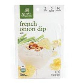 Simlpy Organic Simply Organic - Seasoning Mix, French Onion Dip