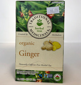 Traditional Medicinals Traditional Medicinals - Herbal Tea, Organic Ginger