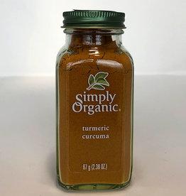 Simply Organic Simply Organic - Turmeric (67.5g)