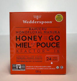 Wedderspoon Wedderspoon - Raw Manuka Honey, Honey On The Go (Box of 24)