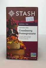 Stash Stash - Herbal Tea, Cranberry Pomeganate (caffeine-free)