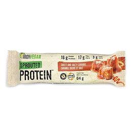 Iron Vegan Iron Vegan - Sprouted Protein Bar, Sweet & Salty Caramel