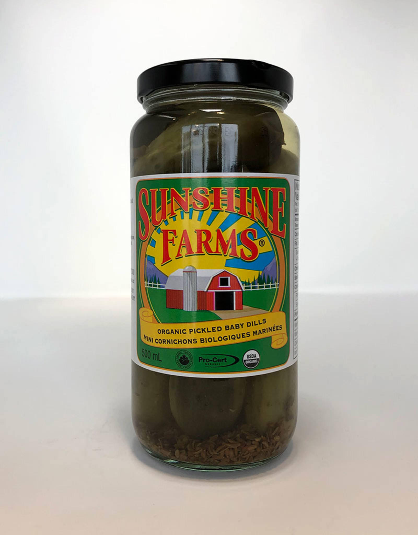 Sunshine Farms Sunshine Farms - Organic Pickled Baby Dills