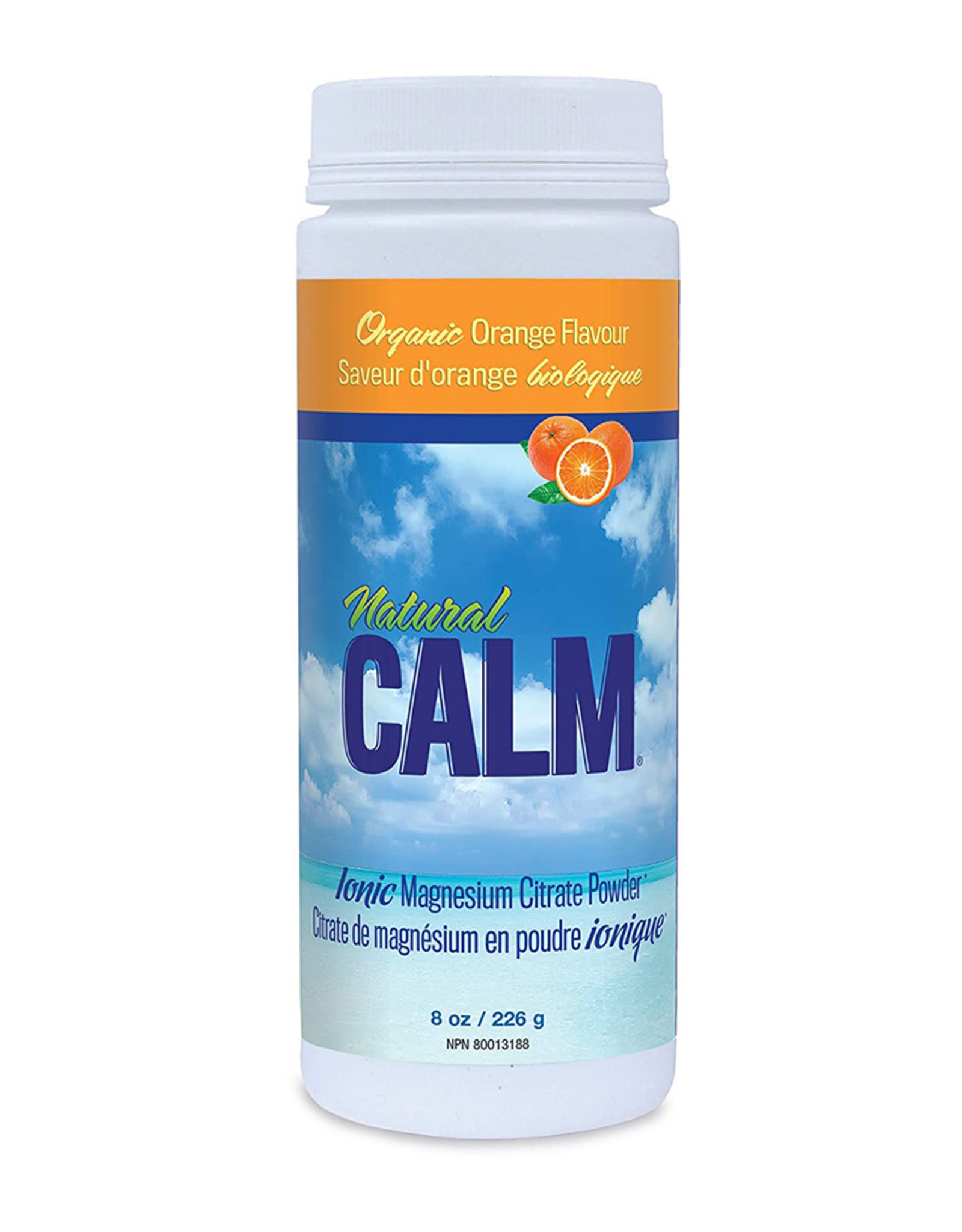 Natural Calm Canada Natural Calm - Magnesium, Orange (226g)