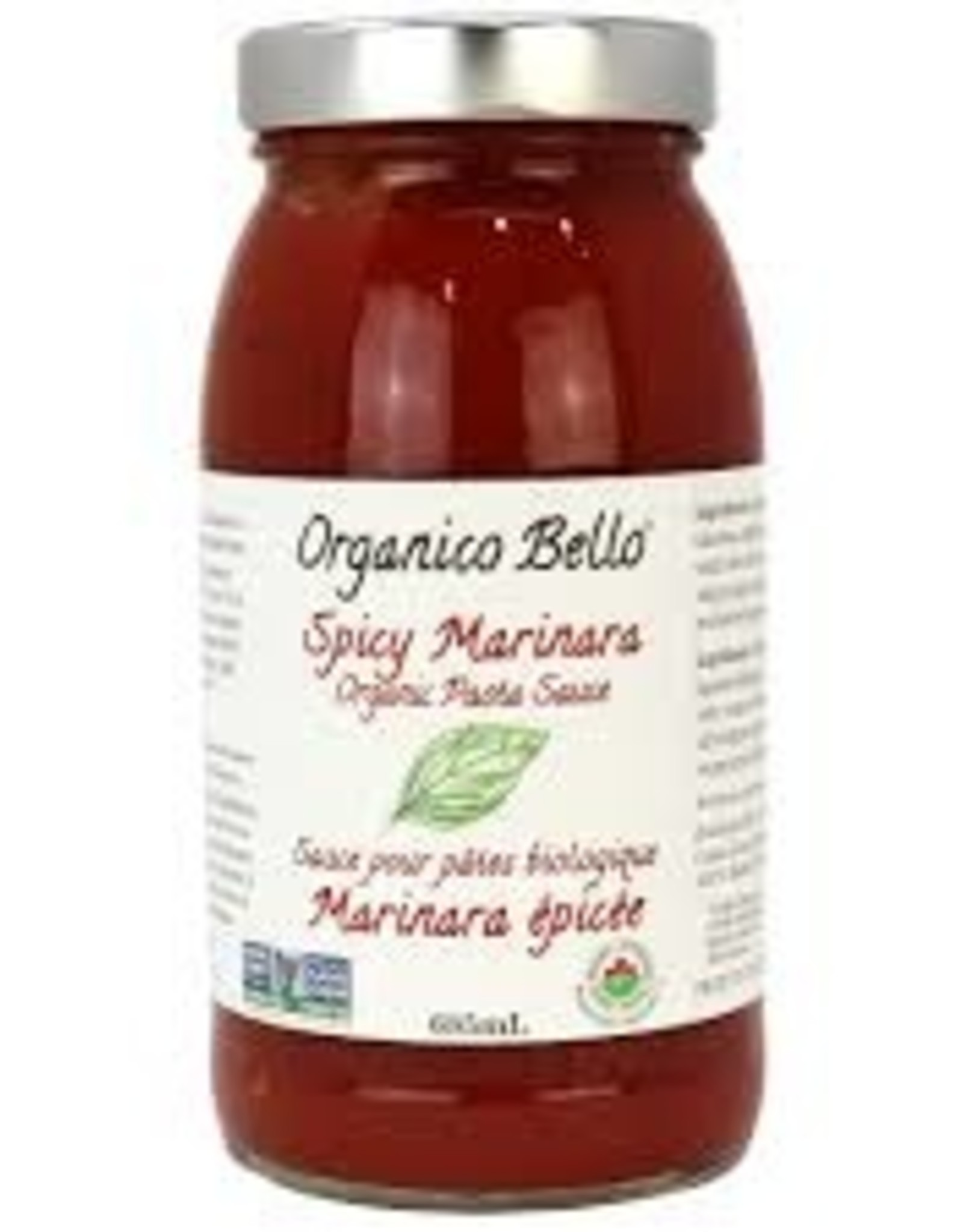 Organico Bello Organico Bello - Pasta Sauce, Spicy Marinara