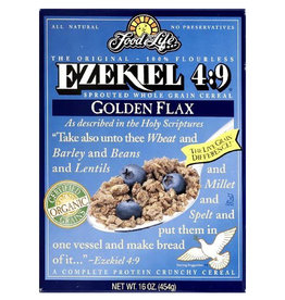 Food for Life FFL - Ezekiel Cereal, Golden Flax