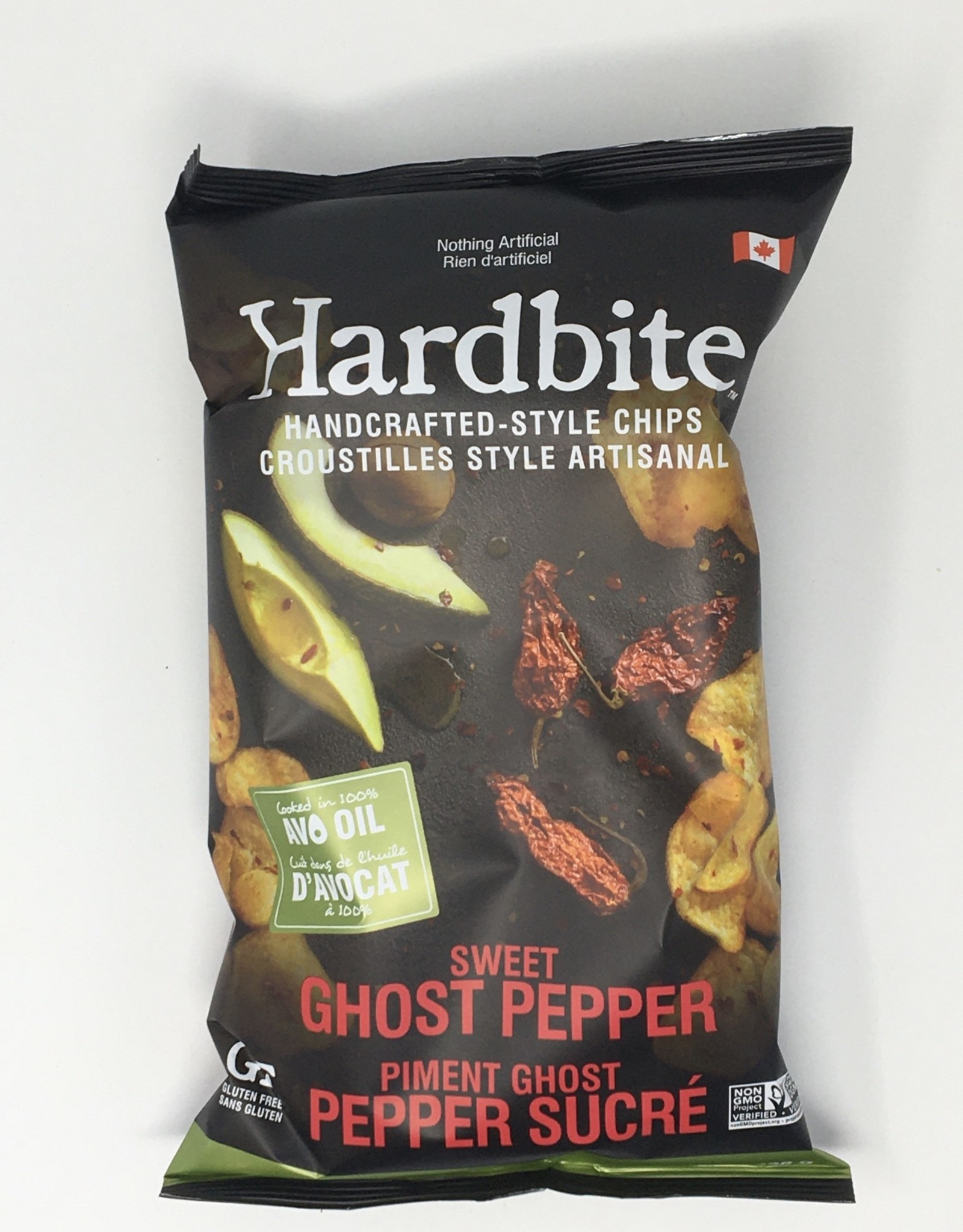 Hardbite Hardbite - Chips, Sweet Ghost Pepper with Avocado Oil (128g)