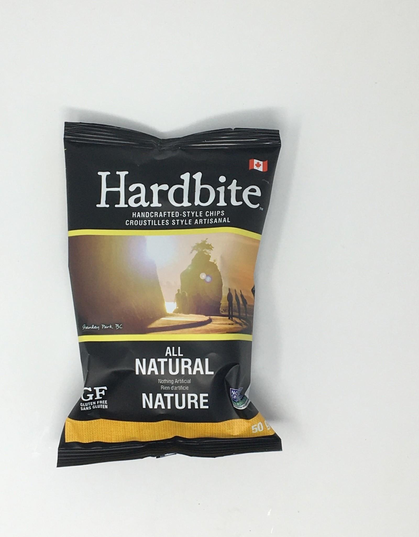 Hardbite Hardbite - Chips, All Natural (50g)