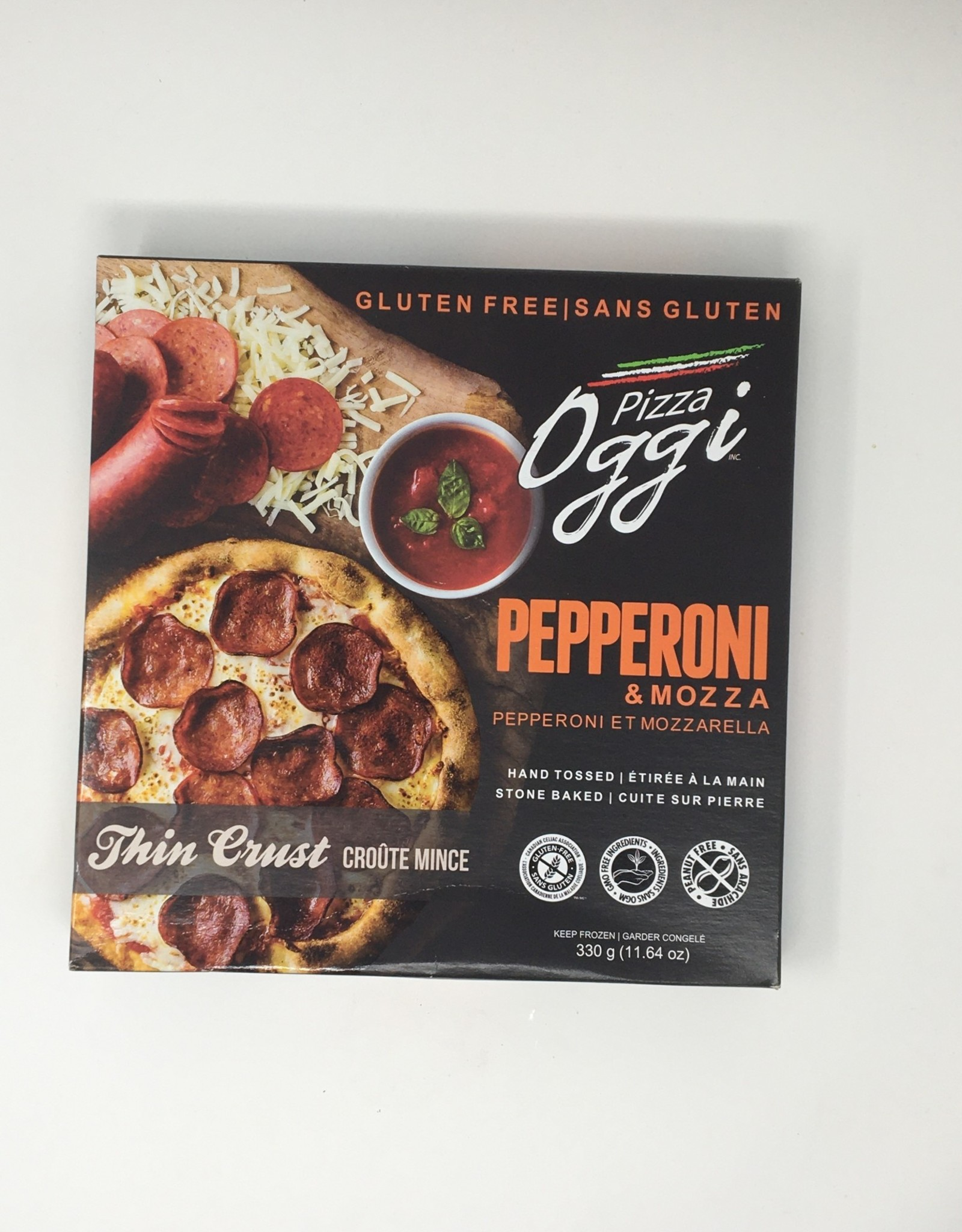 OGGI Food Inc. OGGI - Pepperoni Gluten Free