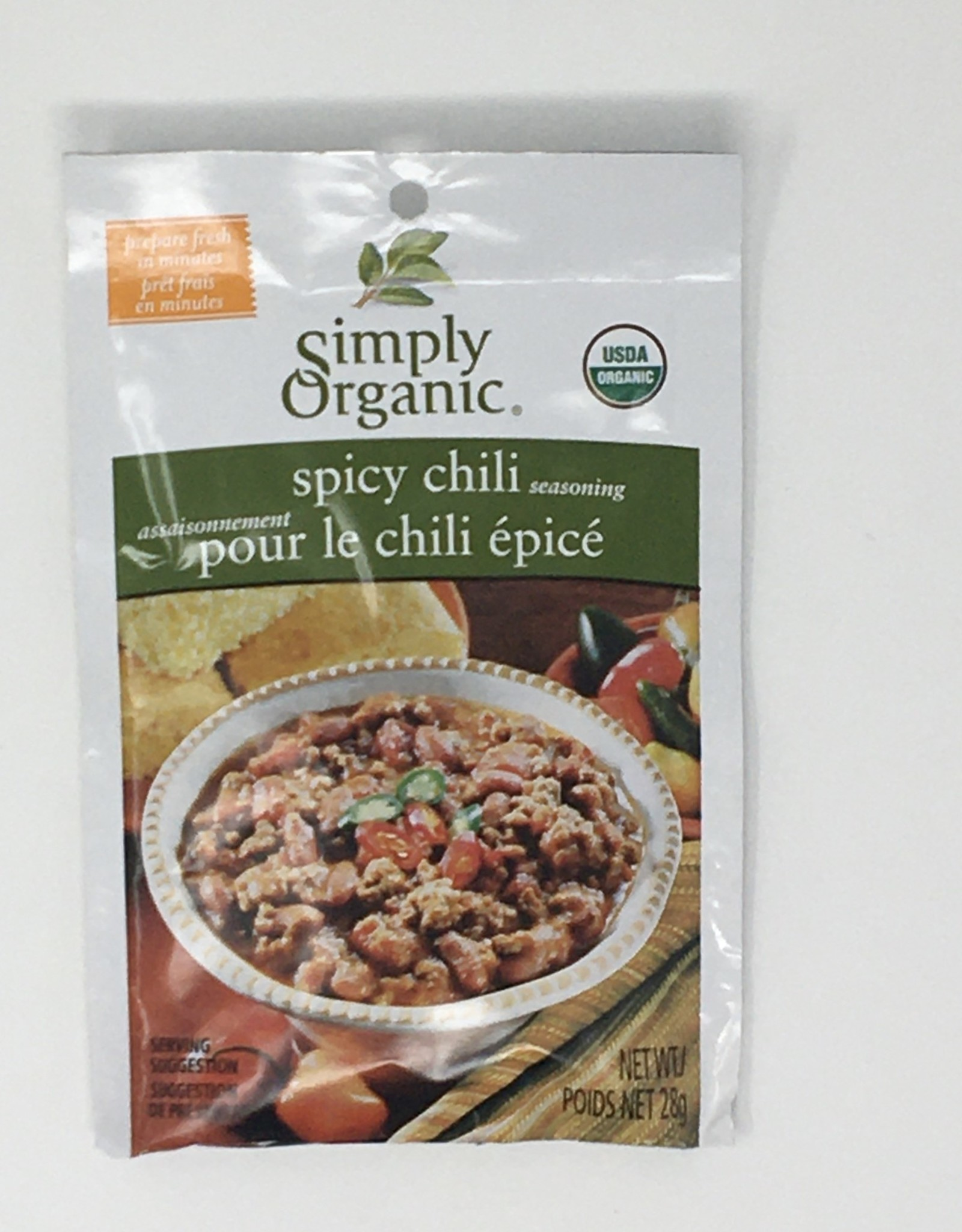 Simply Organic Simply Organic - Seasoning Mix, Spicy Chili