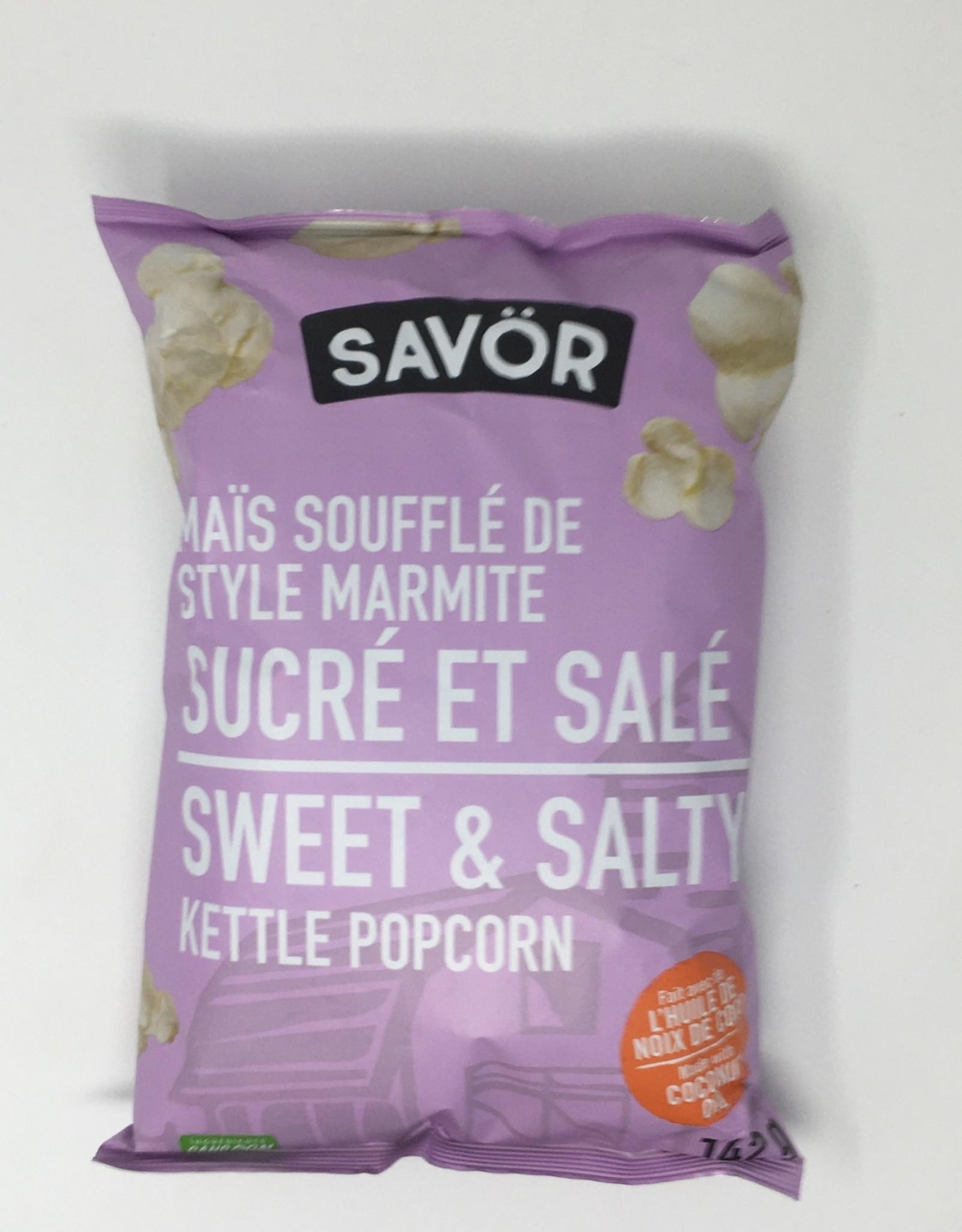 Savor Savor - Kettle Popcorn, Sweet and Salty (142g)