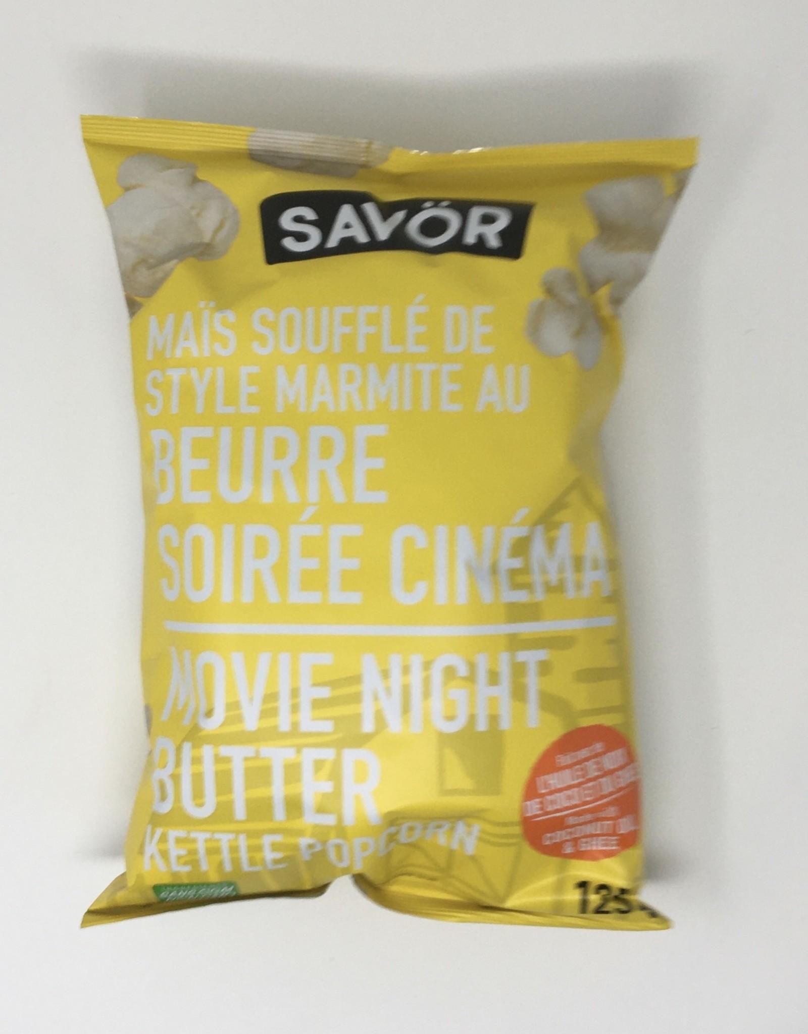 Savor Savor - Kettle Popcorn, Movie Night Butter (125g)