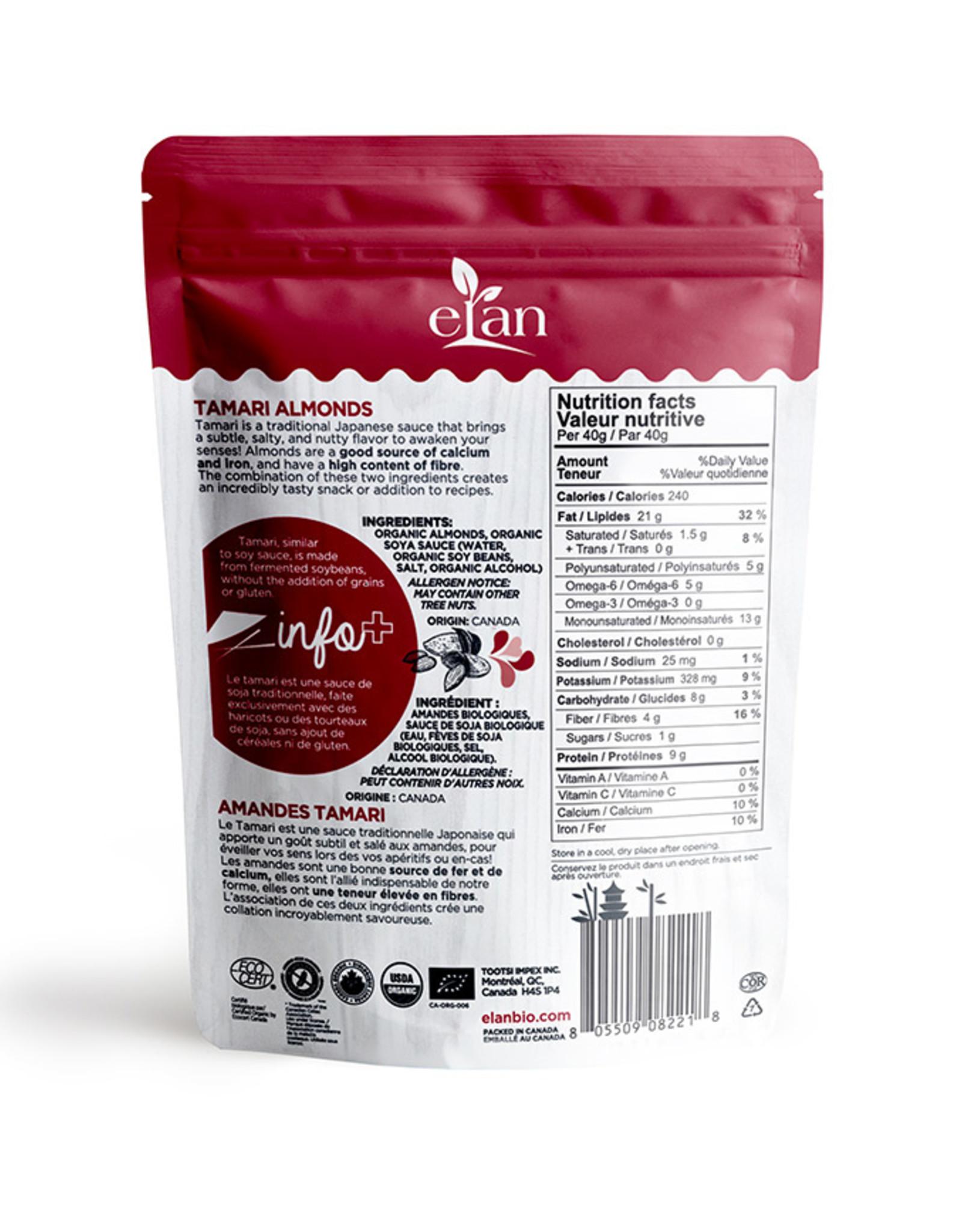 Elan Elan - Organic Tamari Almonds
