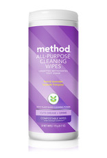 Method Method - All-Purpose Cleaning Wipes, French Lavender