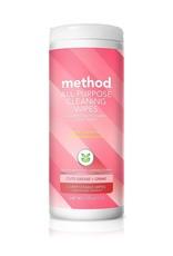 Method Method - All-Purpose Cleaning Wipes, Pink Grapefruit