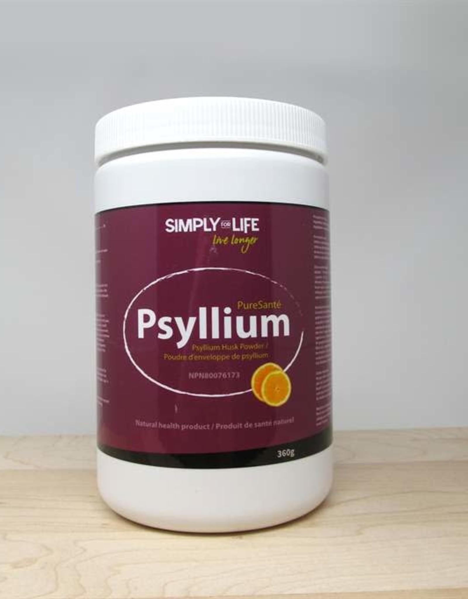 Simply For Life SFL - Psyllium Powder, Orange (360g)