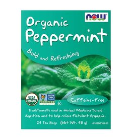 NOW Foods NOW Foods - Tea, Peppermint Bold & Refreshing