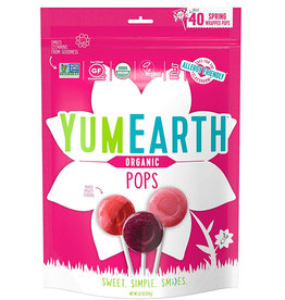 YummyEarth Inc. Yum Earth - Candy, Organic Easter Fruit Pops (247g)