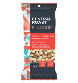 Central Roast Central Roast - Flavour, Sea Salt & Apple Cider Vinegar Cashews (50g)