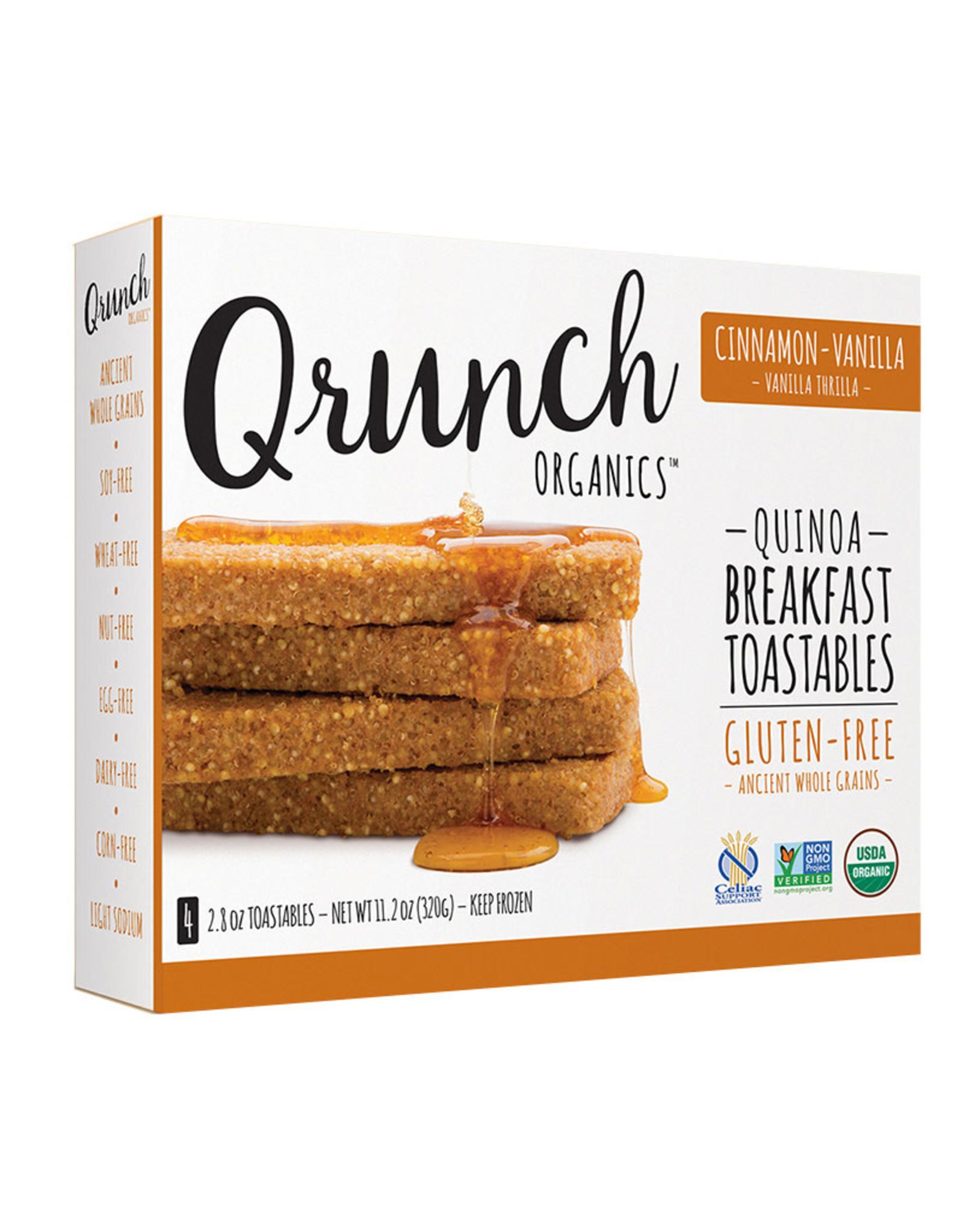 Qrunch Organics Qrunch Organics - Quinoa Breakfast Toastable, Cinnamon Vanilla (306g)