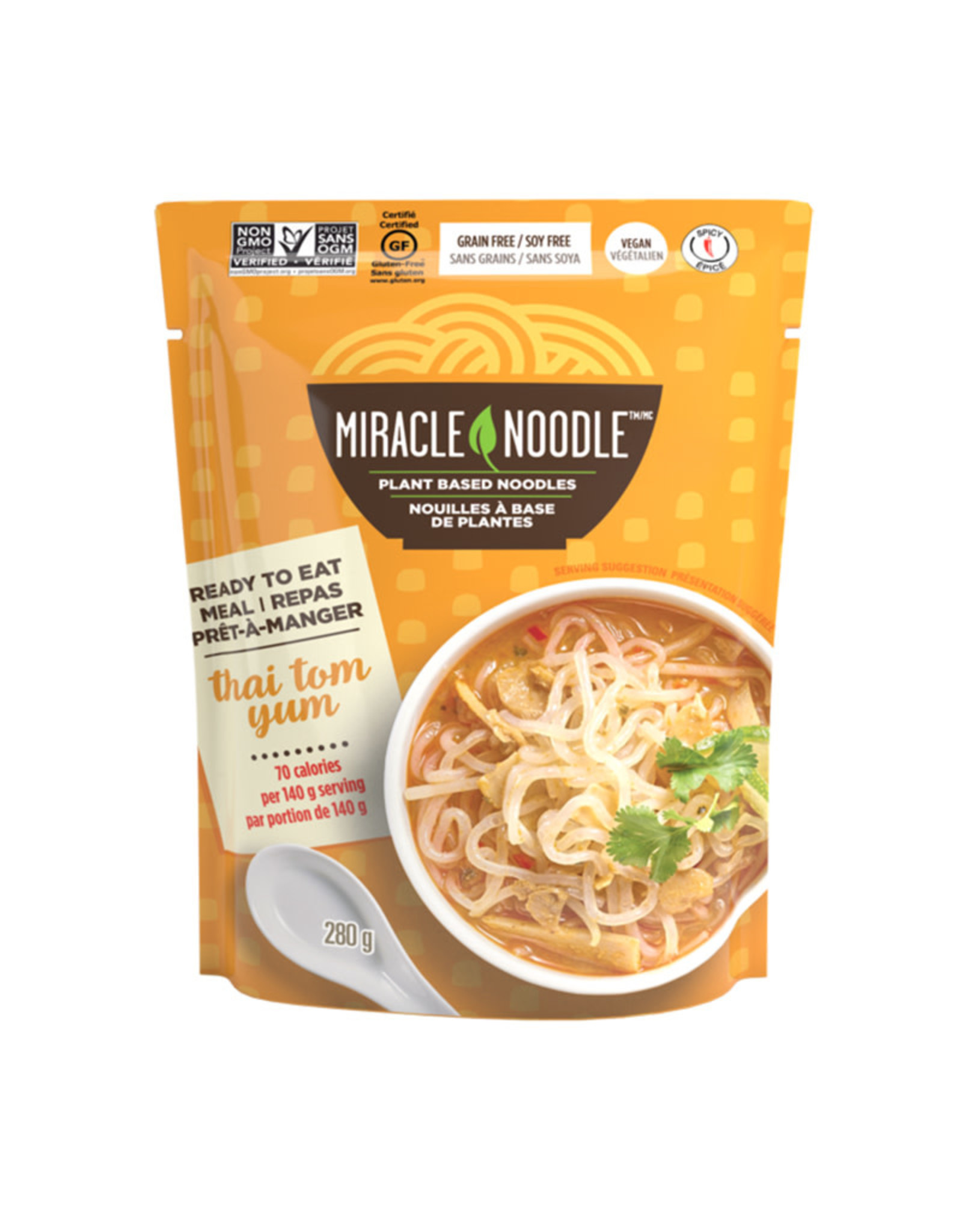 Miracle Noodle Miracle Noodle - Ready-to-Eat, Thai Tom Yum