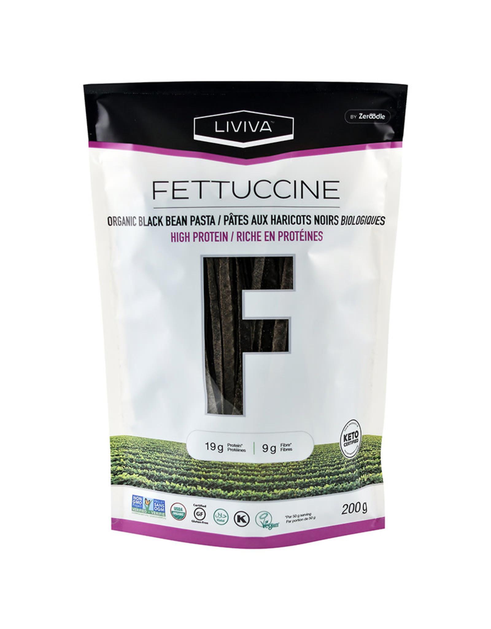 Liviva by Zeroodle Liviva - Black Bean, Fettuccine