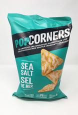 Popcorners Popcorners - Popped Corn Chips, Sea Salt (142g)
