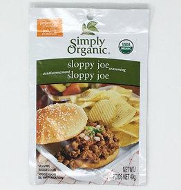 Simlpy Organic Simply Organic - Seasoning Mix, Sloppy Joe
