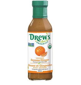 Drew's Organics Drews - Oranic Dressing, Orange Sesame Ginger (360ml)
