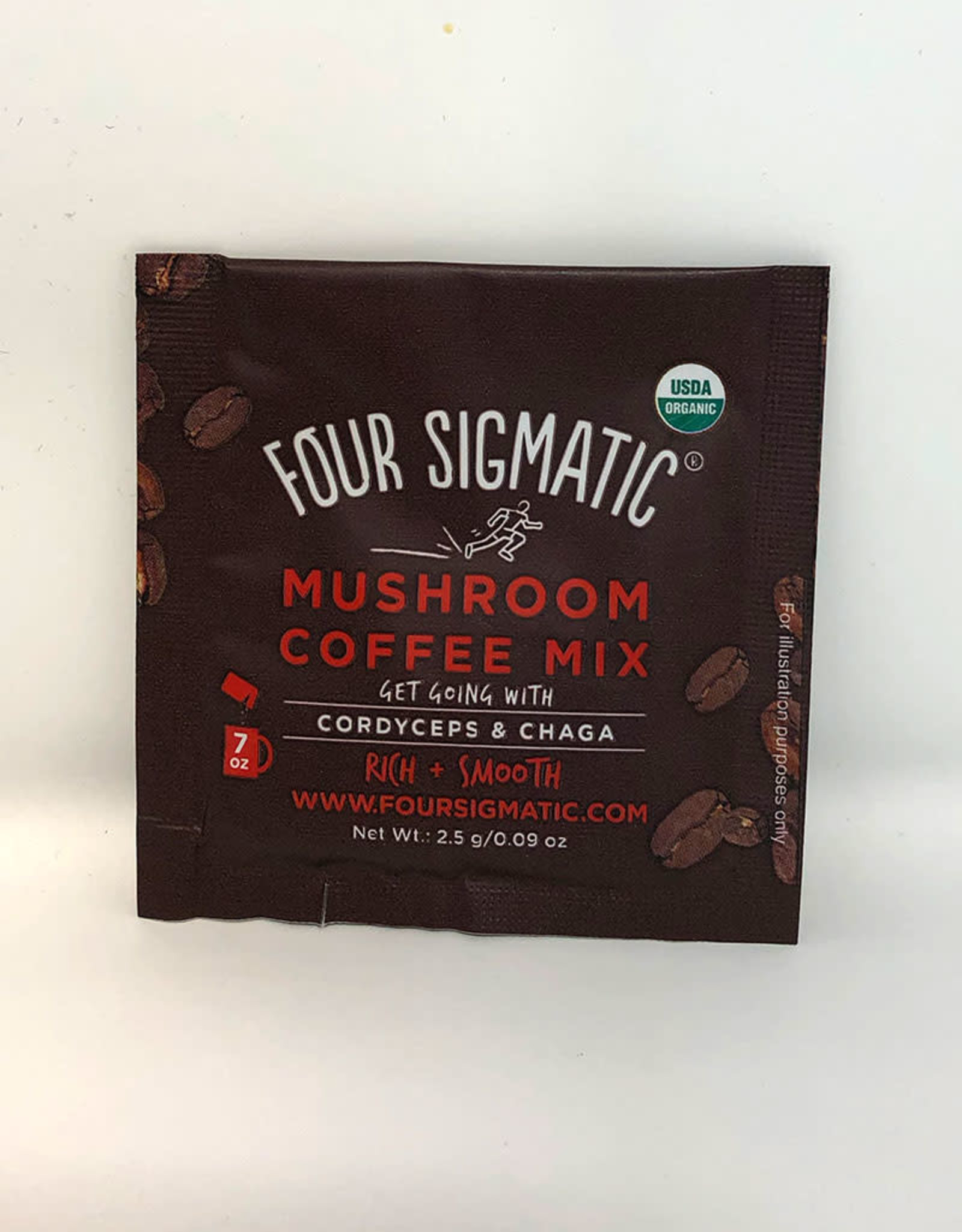 Four Sigmatic Four Sigmatic - Mushroom Coffee, Cordyceps & Chaga (Single)